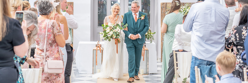 Mary & Les  Wedding Day