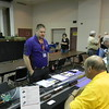 """George Bogatiuk at the SoundTraxx table - Tsunami2 DCC sound systems.<br /> <a href=""""http://www.soundtraxx.com/"""">http://www.soundtraxx.com/</a>"""