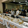 """David Lehlbach (right) at the Tangent Scale Models tables - RTR freight cars.<br /> <a href=""""https://www.tangentscalemodels.com/"""">https://www.tangentscalemodels.com/</a>"""