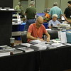 """Ted Culotta at the Speedwitch Media table - several new books.<br /> <a href=""""http://speedwitchmedia.com/"""">http://speedwitchmedia.com/</a>"""