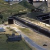 Early version of Caliente, CA on the La Mesa HO-scale club.<br /> May 1985.