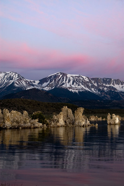 Pink Morning over South Tufas