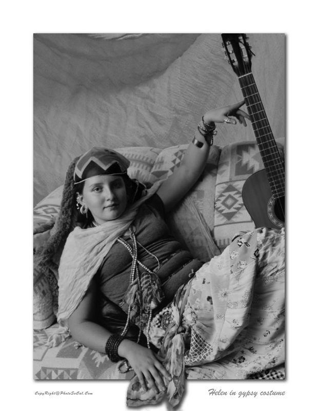 Helen In Gypsy Costume