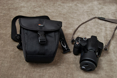 10 lumix + bag