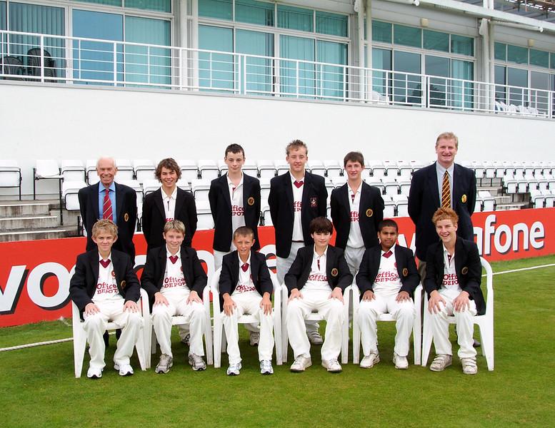 Junior cricket in Northamptonshire