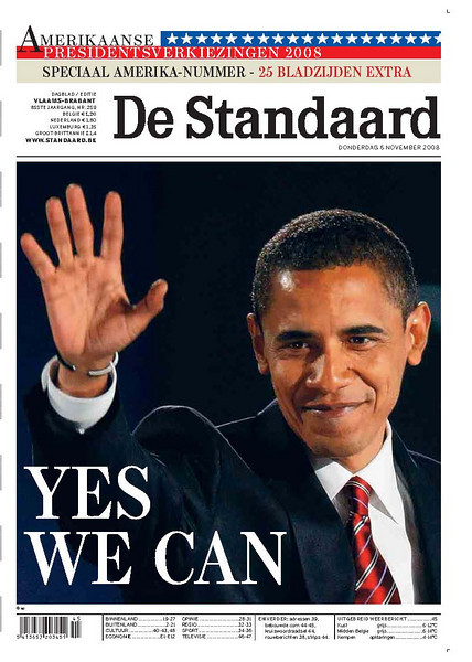 De Standaard, published in Brussels, Belgium 2