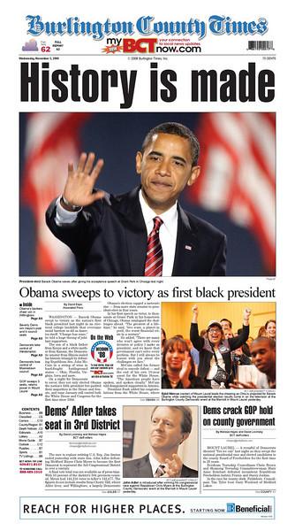 Burlington County Times, published in Willingboro