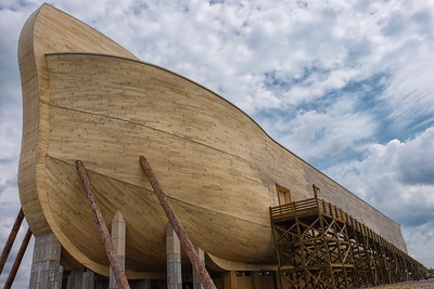 Noahs Ark front view 8-4-16 Williamstown Kentucky