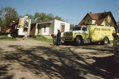 Heavy Rescue 61 possibily at the Limon Tornado damage