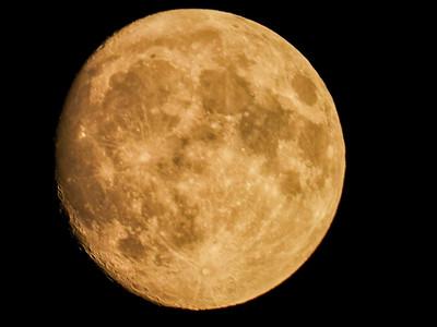 Waxing Gibbous Moon 9-22-18
