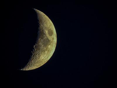 Waxing Crescent Moon 7-17-18