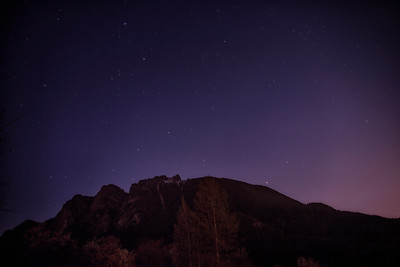 Stars Over Mount Si