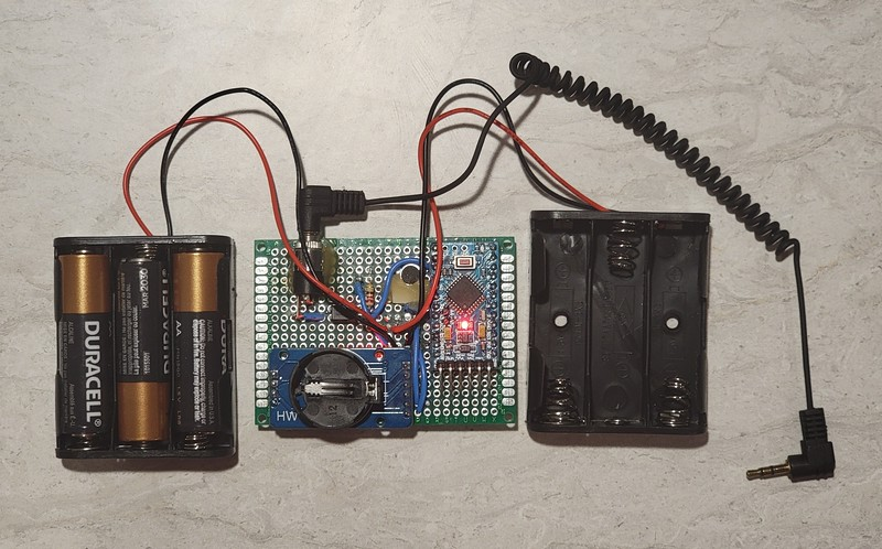 *design will vary slightly also there will be only one battery holder, but I haven't built any with only one holder yet
