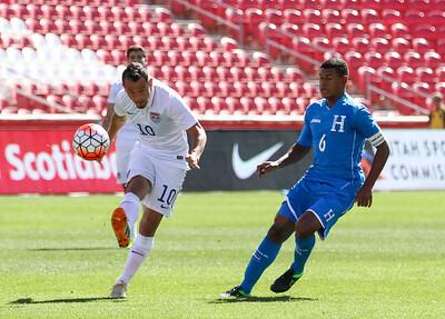 U23 Olympic Qualifing Semi-Final at Rio Tinto Stadium. USA vs Honduras. The USA Men lose to Honduras 0-2. ©2015  Bryan Byerly