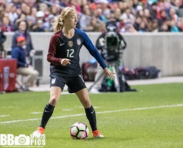US Women's National Team vs Switzerland 10-19-2016 at Rio Tinto Stadium. USWNT win 4-0.  #USAvSUI    #USWNT  ©2016  Bryan Byerly