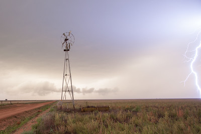 West Texas Storm Scene