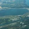 Hydroelectric reservoir.