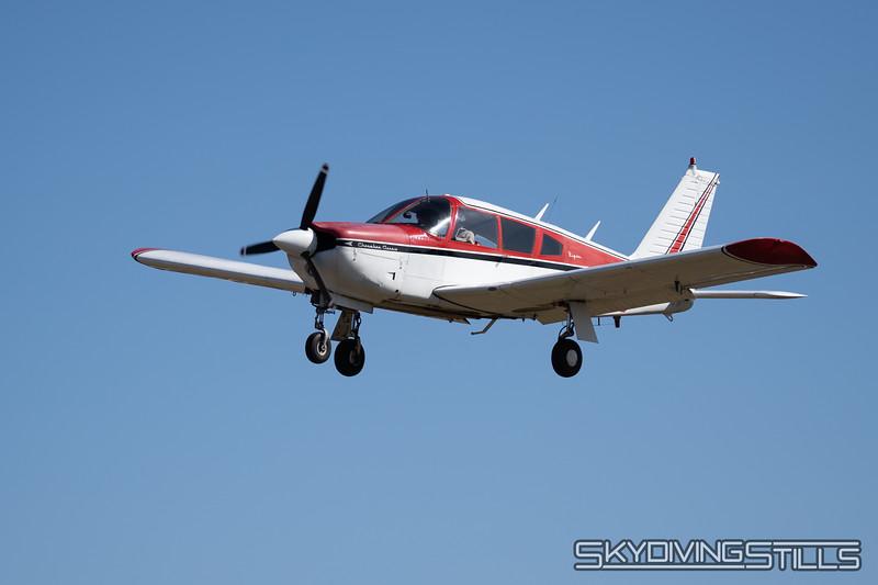 1968 Piper Arrow N4967J.