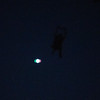 So this didn't focus, but that's Mark and a plane passing directly overhead at 1600 feet.