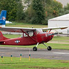 """Cessna O-1 Bird Dog banner tow plane. <br><span class=""""skyfilename"""" style=""""font-size:14px"""">2018-10-06_skydive_cpi_0003</span>"""