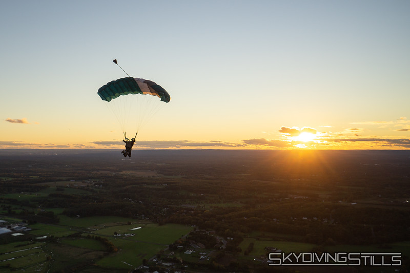 """Doug in front of the sunset. <br><span class=""""skyfilename"""" style=""""font-size:14px"""">2018-10-13_skydive_cpi_0155</span>"""