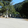 Entry to the shops off of Niles Canyon Road.
