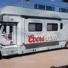 Coors Light Freightliner camper