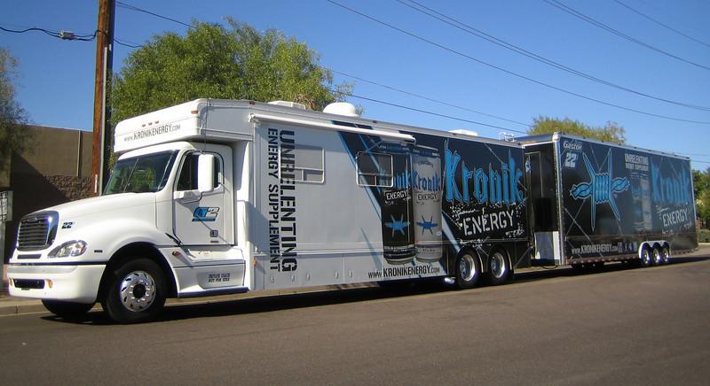 Kronik Energy Freightliner & trailer