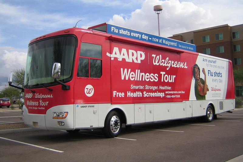 AARP Walgreens camper