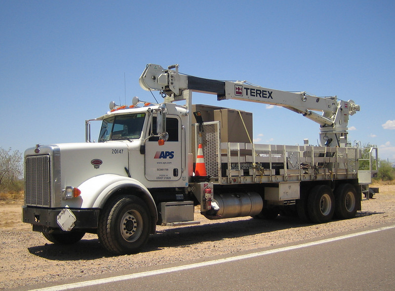 APS Peterbilt Terex #20147