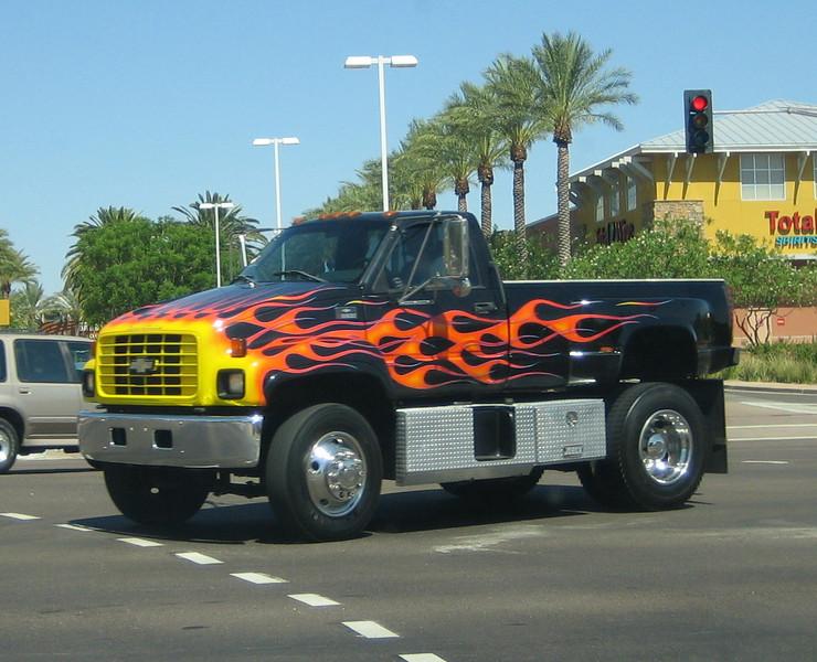 Chevy Kodiak C6500 pick-up
