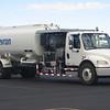 Chevron DV Freightliner fuel truck