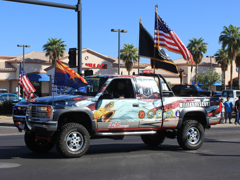 Chevy Silverado Military Escort