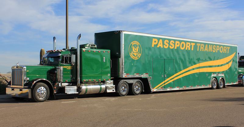 Passport Transport Peterbilt #127