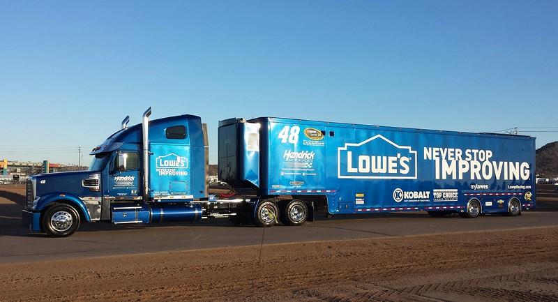 Nascar Lowes #48 Freightliner