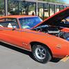 Pontiac GTO orange