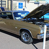 Chevy Camaro SS brown