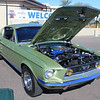 Ford Mustang light green