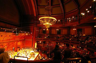 Memorial Hall, Harvard (for Masterworks Chorale Concert)