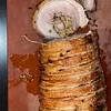 Pork belly with crispy skin