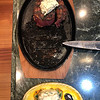 Prime cap steak with compound butter