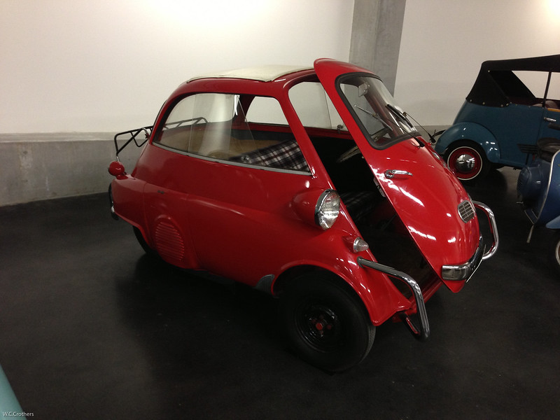 My sister's first car. BMW Isetta.
