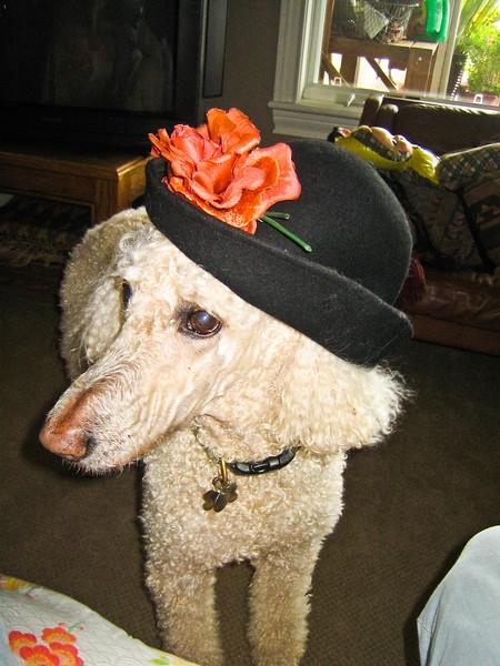 Riley was always stylish.