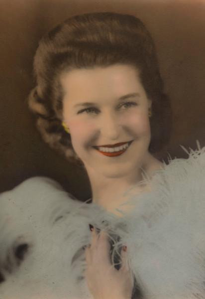 My moms sister Verda circa 1938