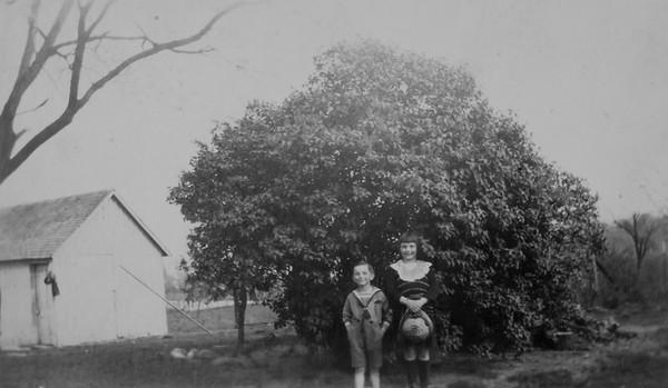 My dad & and his sister Kaye c. 1921