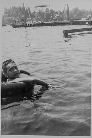 Michael at Blue Lake Park 1952