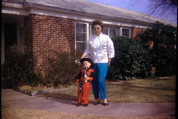 Me & Mom, Forth Worth, Texas 1962