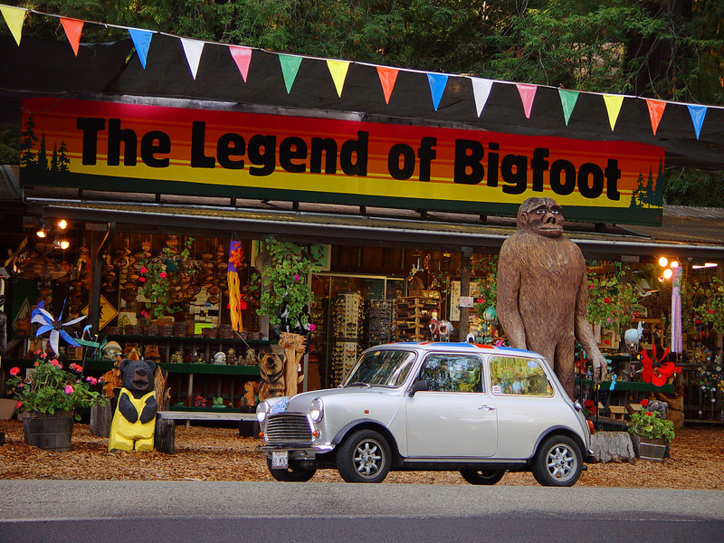 Big Foot. Little Car.