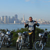 Uwe and the San Francisco skyline