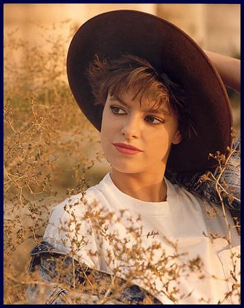 Model outdoor shot, 1986